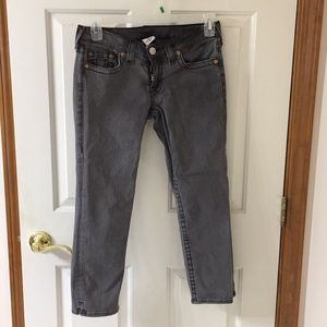 True religion denim capris size 29 nwot